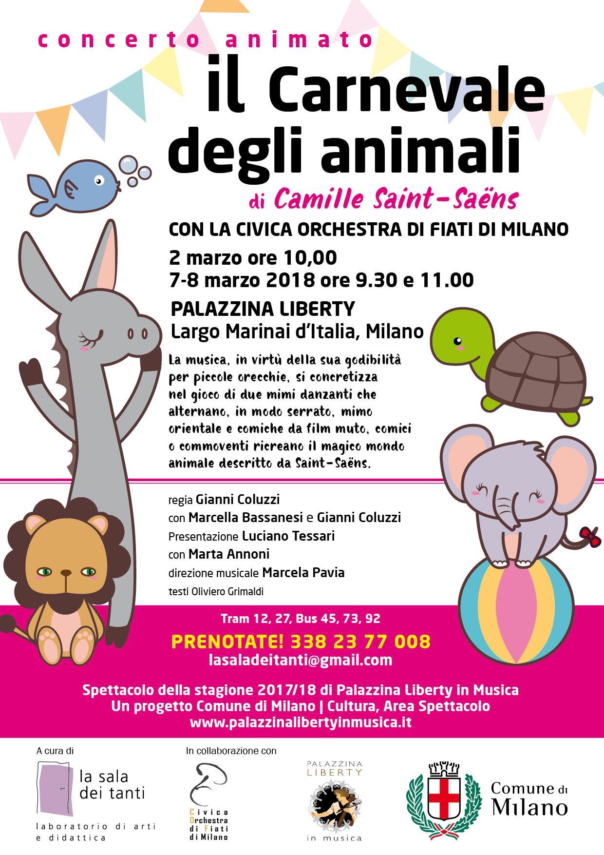 Locandina Il Carnevale degli Animali