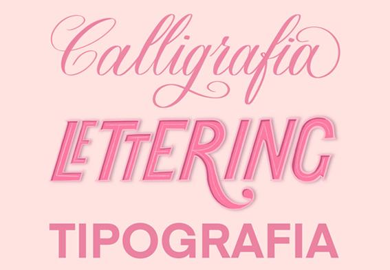 Differenza tra calligrafia lettering e tipografia